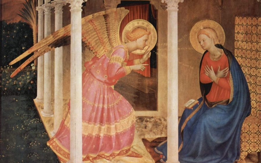 The Angelus | The angel of the Lord declared to Mary