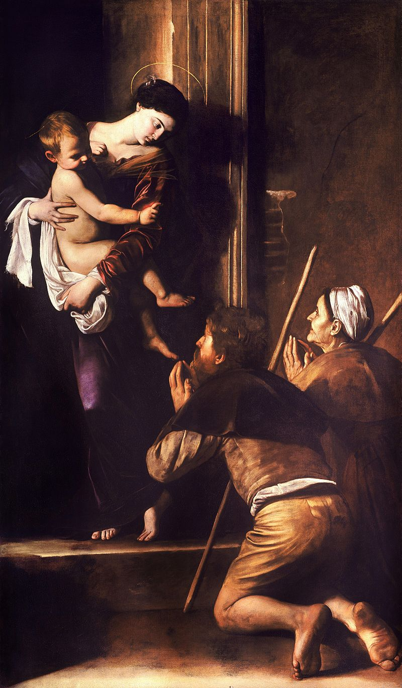 Madonna di Loretto (Our Lady of Loreto) by Caravaggio