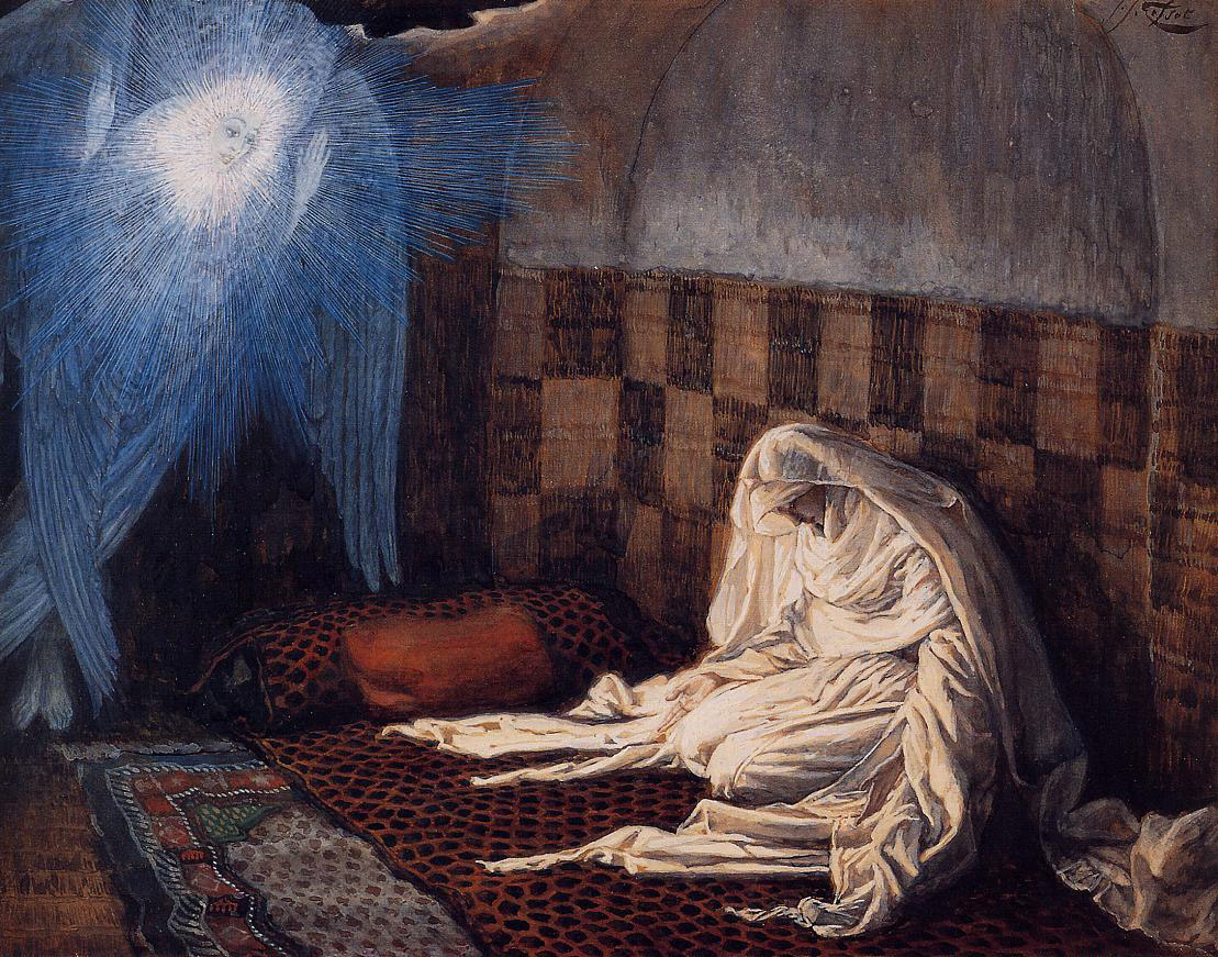 The Annunciation to the Blessed Virgin Mary James Tissot